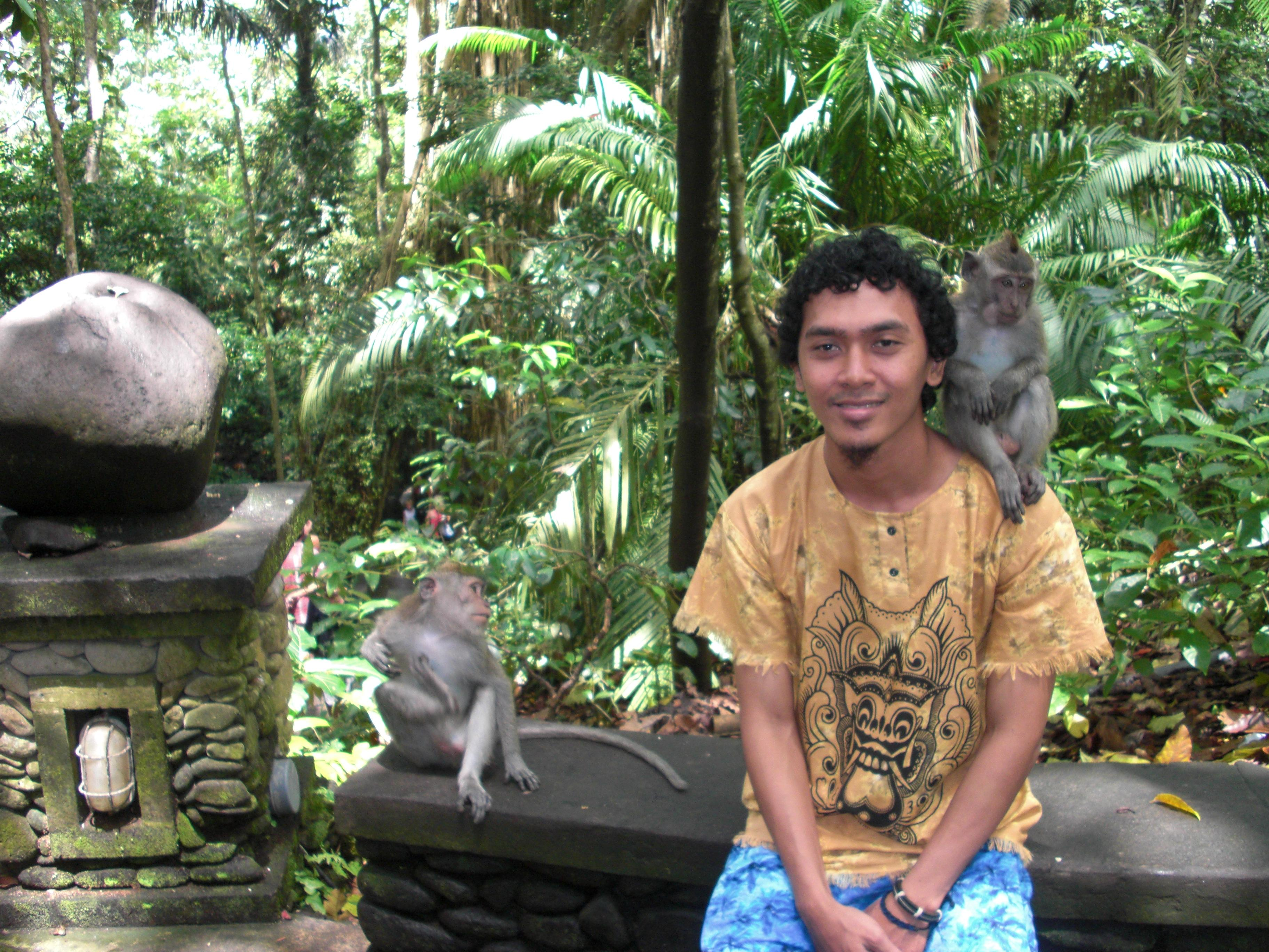 , Bersatu Dengan Alam di Monkey Forest, Jurnal Suzannita